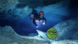 Abaco Dans Cave, Cavern zone