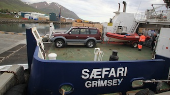 Iceland 2012, on the way to Grimsey- we are happy to get the Zodiac to the island ;)
