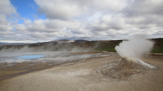 Iceland 2012, Hveravellir -active geothermal area in the Highlands of Iceland