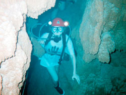 Monsummano Terme, Taucher, coppyright http://www.tuscandivers.com