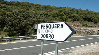 direction to the Pozo San Vincente